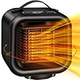 Best Ceramic Heaters - Fan Heater,Portable Electric Fan Heater 1000W With Adjustable Review