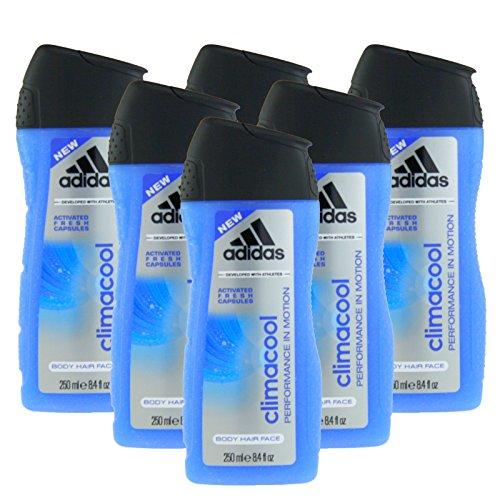Adidas Climacool Duschgel 6 x 250 ml