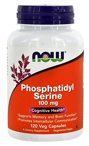PHOSPHATIDYL SERINE 100mg - 120 veg caps