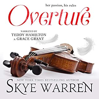 Overture                   Written by:                                                                                                                                 Skye Warren                               Narrated by:                                                                                                                                 Teddy Hamilton,                                                                                        Grace Grant                      Length: 5 hrs and 37 mins     1 rating     Overall 5.0