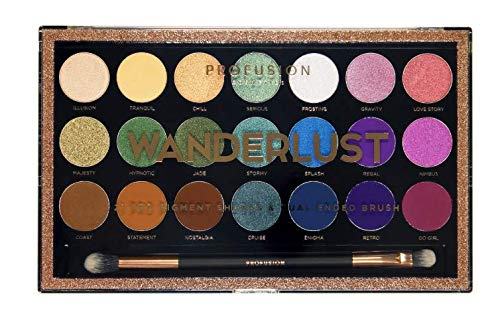 Profusion Cosmetics 21 Cheap mail order sales Palette Save money Wanderlust Shade