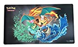 Pokemon Playmat - Charizard Blastoise Vensuar - Premium Collection Exclusive - Gaming Mat