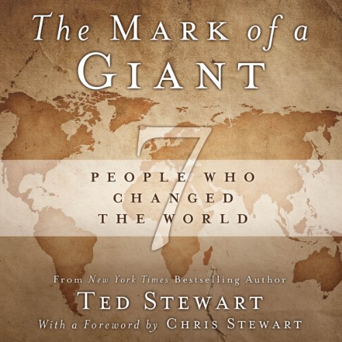 The Mark of a Giant audiobook cover art