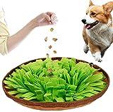Voarge Hund schnüffelteppich intelligenzspielzeug, Schnüffelteppich Hund Dog Puzzle Toys Hund Snuffle Mat für Hunde Pet Sniffing Pad, Intelligenz Hundespielzeug Schnüffelspielzeug