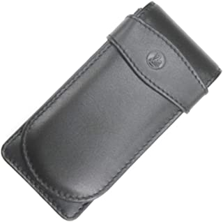 Pelikan Fine Leather Black Triple Pen Pouch - 923433