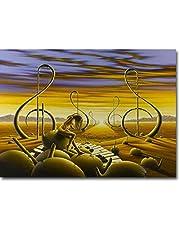 VGFTP Vuxna pussel berömd målare Salvador Dali-pussel 1 000 stycken trä intressant berömda abstrakta måltid pussel hög kvalitet dekoration pusselspel