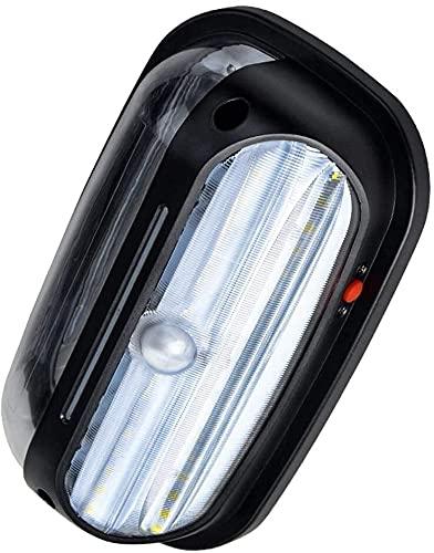 Lámpara de pared a prueba de polvo a prueba de agu Luz de sensor de movimiento inalámbrico a prueba de agua 120 ° Detector de diseño de gran angular Super brillante LED LIGHTING 400LM Luz de seguridad