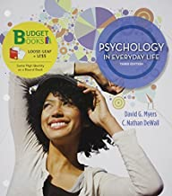 Loose-leaf Version for Psychology in Everyday Life & LaunchPad 6 month access card (Budget Books) by David G. Myers (2014-07-14)