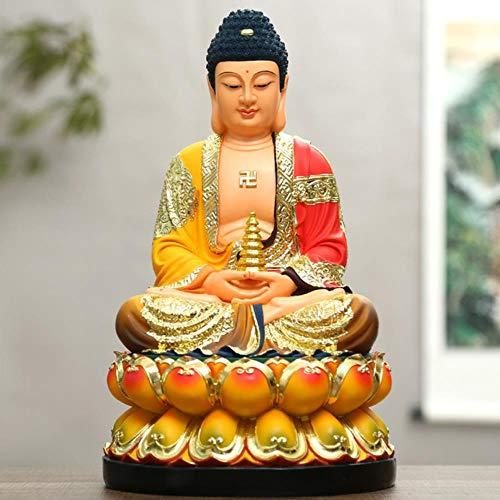 ETHAN Ropa Coloreada Resina Sakyamuni Buda Farmacéutico