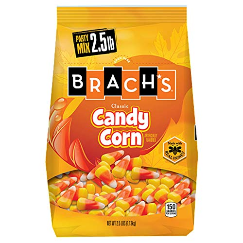 Brach's Classic Candy Corn, Made with Real Honey (Classic 40-oz Bag, 2 Pack)