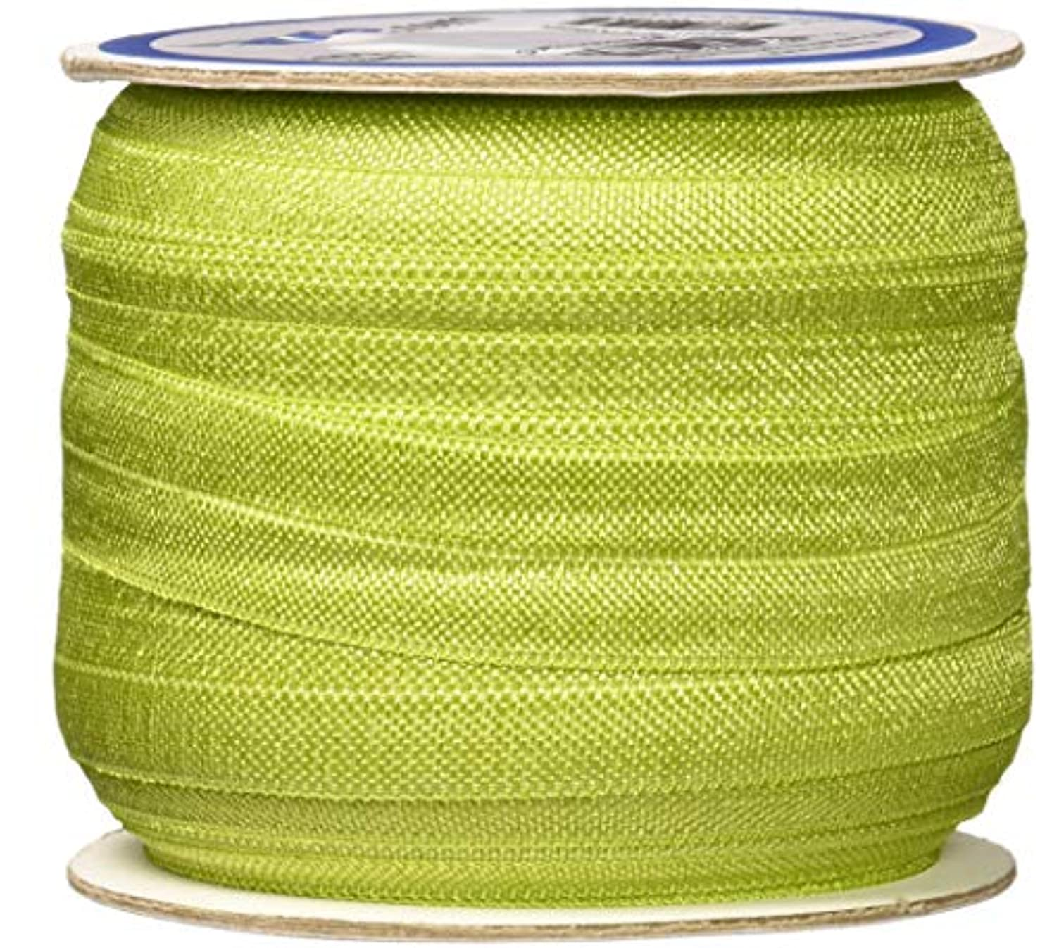 by Annie SUP211-50-AG 3/4in x 50yd Apple Green Fold-Over Elastic