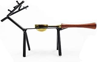 Fancy Chul Deer Wax Seal Kit, Wax Spoon Holder Warmer for Melting Sealing Wax Beads or Sticks, Iron Art Deer, Wax Seal Stamp Arts Crafts Melting Spoon Candle Kit(Deer Furnace)