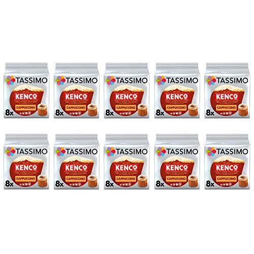 Tassimo Kenco Cappuccino Kaffeepads - 10 Packungen (160 Getränke)
