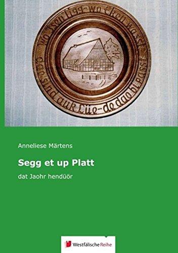 Segg et up Platt: dat Jaohr hendüör