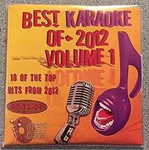 Best Of Karaoke 2012 Volume 1 CD+Graphics CDG 18 Pop & Country Tracks Justin Bieber, Taylor Swift, Bruno Mars, One Direction, Rihanna, Darius Rucker, Kenny Chesney, Luke Bryan, Randy Houser, Adele