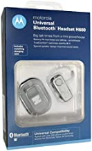 Motorola H680 Frost Bluetooth Headset in Retail Packaging