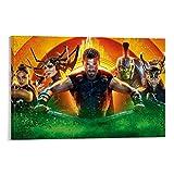 DRAGON VINES Poster, Thor Ragnarok Chris Hemsworth Loki