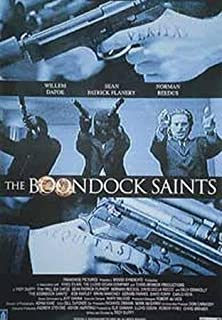 BEYONDTHEWALL Archive The Boondock Saints Imported European One Sheet Action Vigilante Film Poster Print (UNFRAMED 27X40)
