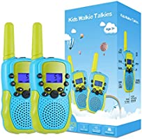 Kearui Toys for 3-12 Year Old Boys, Walkie Talkies for Kids 22 Channels 2 Way Radio Toy with Backlit LCD Flashlight, 3...