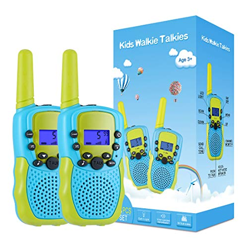 Selieve Toys for 3-12 Year Old Boys Girls, Walkie Talkies for Kids 22 Channels 2 Way Radio Toy with Backlit LCD Flashlight, 3 Miles Range for Outside, Camping, Hiking