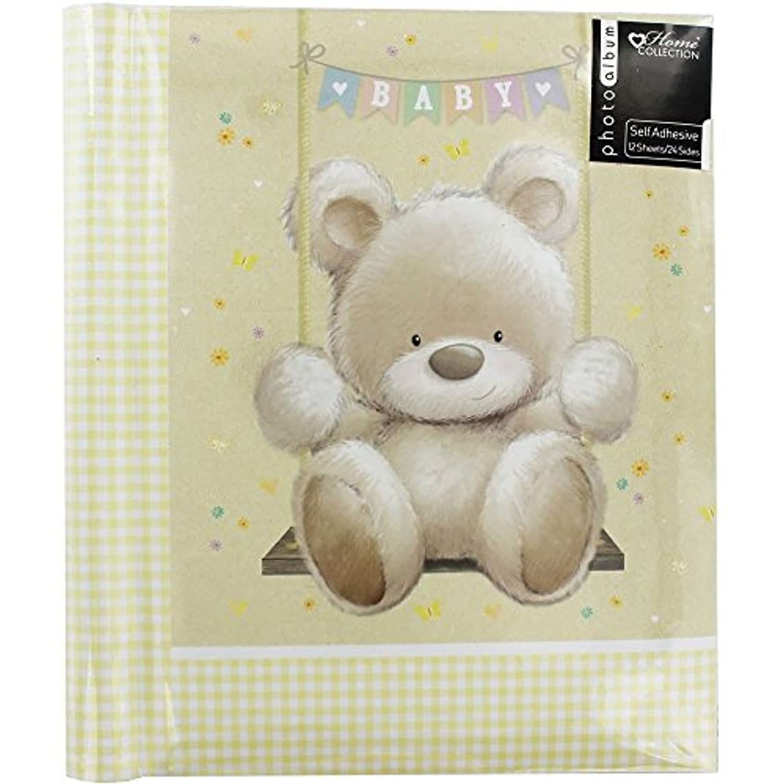 Anker Photo/Picture Frame Baby Bear 12 Sheet Self Adhesive, White, 10 x 15 x 5 cm