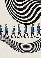 大人のための傘アカデミー5Dダイヤモンド絵画キットラインストーン刺繡写真リビングルームの家の壁の装飾のためのクロスステッチの芸術工芸品