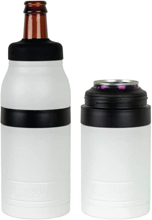 Bison Coolers 2 in 1 Can  Bottle Insulated Cooler Thermos | Vac