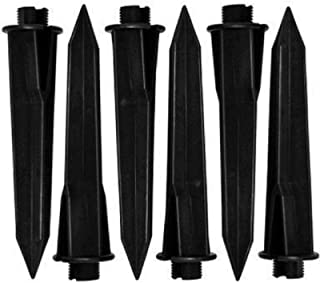 Malibu Path Light Replacement Plastic Stakes (6-Pack)