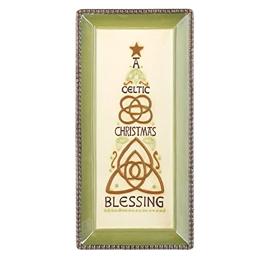 Grasslands Road Celtic Christmas Blessing Holiday Tray
