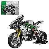 SENG Juego de construcción de bloques de construcción para motocicleta, 865 piezas, personalizado, para moto de carreras, todoterreno, modelo de motocross, compatible con Lego