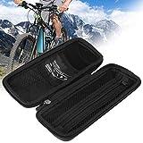 Emoshayoga Ike Frame Pannier Cycling Hanging Front Fixed Tool Pocket r para la Billetera del teléfono Llaves Herramienta Pesca Nocturna y Ciclismo(Bicycle Tool Jar Hard Shell Kettle Bag)