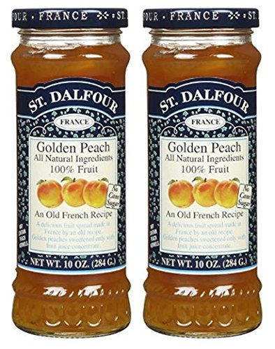 St. Dalfour Conserves - Golden Peach - 10 oz (Pack of 2)