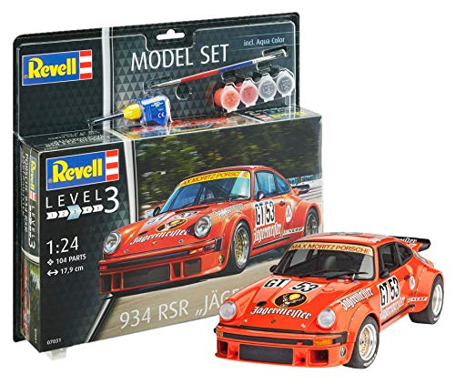 Revell Modellbausatz Auto 1:24 - Porsche 934 RSR