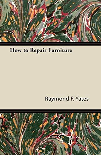 How to Repair Furniture