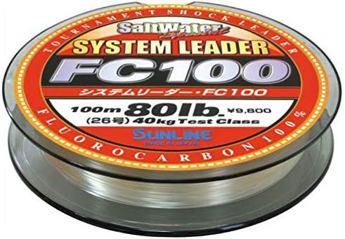 Sunline System Leader Max 59% OFF Indefinitely FC100 Fluorocarbon
