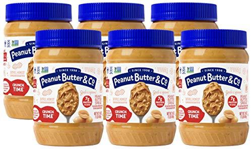 Peanut Butter & Co. Crunch Time Peanut Butter, Non-GMO Project Verified, Gluten Free, Vegan, 16...