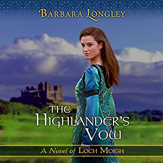 The Highlander's Vow audiobook cover art