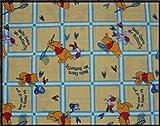 Tour de lit bébé Winnie l'ourson Hello There Mr Butterfly