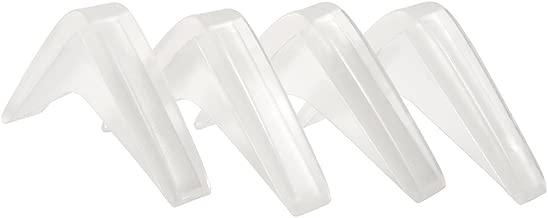 Self-Stick Furniture Corner Guard (4 piece) - Clear
