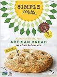 Simple Mills Almond Flour Mix Gluten Free Artisan Bread -- 9.5 oz - 2 pc