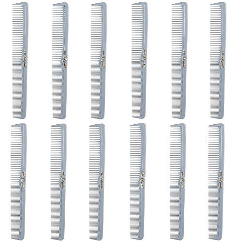 転用であることストッキングBarber Beauty Hair Cleopatra 400 All Purpose Comb (12 Pack) 12 x SB-C400-LGREY [並行輸入品]