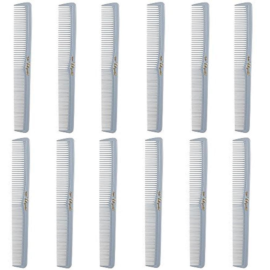 満員葉巻ステージBarber Beauty Hair Cleopatra 400 All Purpose Comb (12 Pack) 12 x SB-C400-LGREY [並行輸入品]