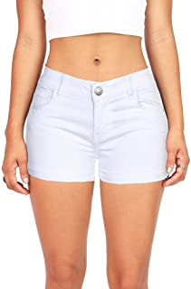 Celebrity Pink Women's Juniors Casual Cuffed Shorts