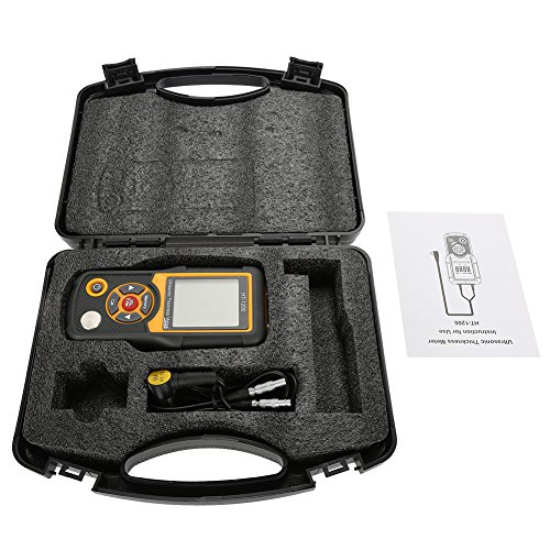 HT-1200 Medidor digital LCD ultrasónico de espesor, herrami