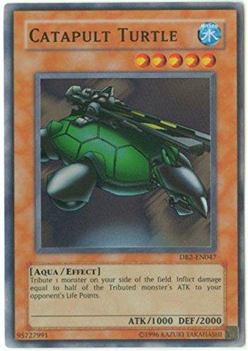 Yu-Gi-Oh! - Catapult Turtle (DB2-EN047) - Dark Beginnings 2 - Unlimited Edition - Super Rare