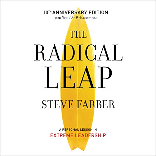 The Radical Leap audiobook cover art
