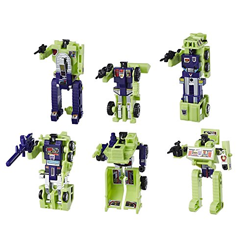 Hasbro Transformers: Vintage G1 Constructicon Devastator 6-Figure Collection Pack
