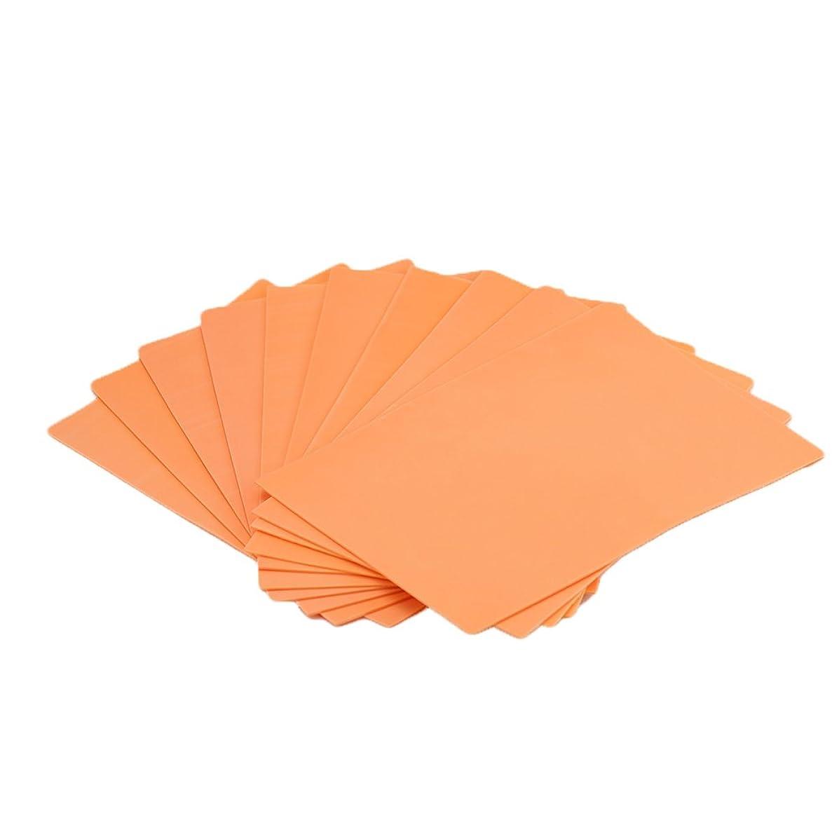 EVA Foam Paper Sheet (20 pcs)-8x12 Inch-2mm Thick A4 Size for Children's Craft Activities DIY Cutters Art-21x30cm (Orange)