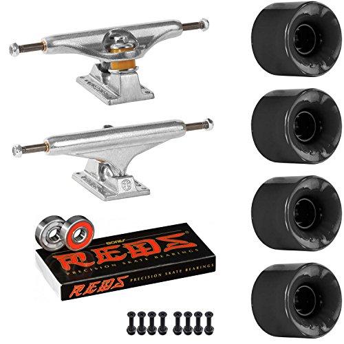 INDEPENDENT Skateboard KIT Indpendent 169 Trucks OJ Hot Juice 60mm 78a Wheels Black Reds