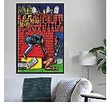 MTHONGYAO Poster Affiche Snoop Dogg Doggystyle Tha Doggfather Neva Left Album Musique Rap Hip Hop Wall Art Toile Peinture Décoration De La Maison 50 * 70Cm No Frame
